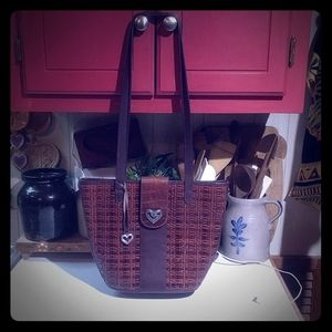 Brighton Brown Leather Shoulder Bag